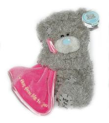 Мишка Tatty Teddy 15см - с одеялом A Hug from Me To You