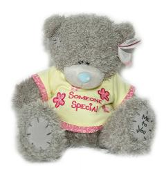 Мишка Tatty Teddy 23см - в желтой футболке Someone Special