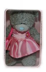 Мишка Tatty Teddy 15см - врозовом платье с сумочкой Especially for You...