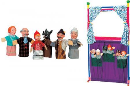 Игрушки для кукольного театра купить